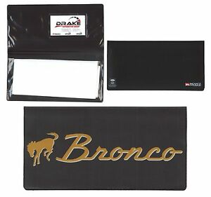 1966-1977 Ford BRONCO --- Owners Manual Wallet - Ford Licensed!