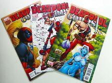 Marvel DEADPOOL CORPS (2010) #8 9 10 LADY DEADPOOL Rob LIEFELD LOT Ships FREE!