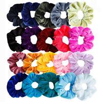 20 Pcs Hair Scrunchies Velvet Elastic Hair Bands Scrunchy Hair Ties Ropes Scrun