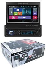 "7"" Flip Out Bluetooth Radio CD/DVD MP3 USB Single Din Touch Screen PD-724B"