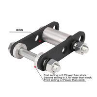 Iron Rear Lowering Kit For Yamaha Blaster YFS200 1988-2006 00 01 02 03 04 Black