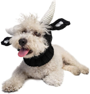 Zoo Snoods Bull Dog Costume - Neck and Ear Warmer Hood for Pets