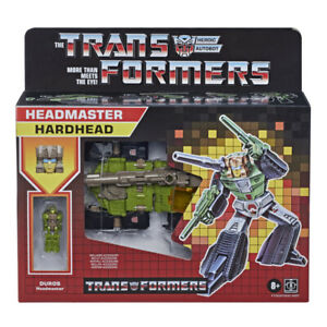 Transformers Generations Retro Headmaster Hardhead Action Figure