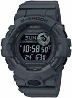 New Casio G-Shock Digital G-Squad Bluetooth Resin Gray Strap Watch GBD800UC-8