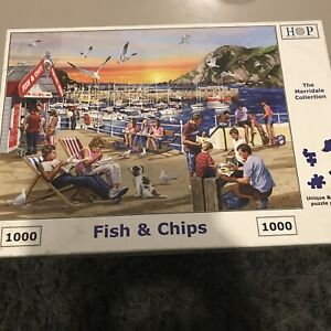 HOP 'Fish & chips' - 1000 Piece Puzzle