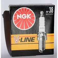 NGK Zündkerze BKR 6 EZ V-Line Nr. 38 - BKR6EZ VLINE 38 - 6717 - 4 Stück