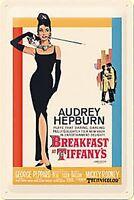 Desayuno en Tiffany's Relieve Letrero de Metal (Na 3020)