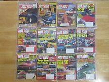 """1980's & 1990's Vintage Hot Rod Magazines """"Lot of 12"""" (85, 87, 95 & 96)  Lot #19"""