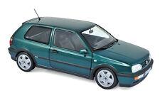 VW Golf VR6 Baujahr 1996 grün-metallic Maßstab 1:18 von Norev
