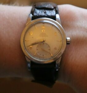 Extremely rare Omega Automatic Chronometre early bumper calibre 343 wrist watch
