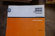 CASE 220B Excavator Crawler Trackhoe Parts Manual book catalog list spare 1990