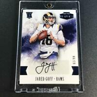 JARED GOFF 2016 PANINI HONORS #76 AUTOGRAPH AUTO ROOKIE RC #'D /99 LA RAMS NFL