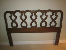 French Country Full Queen Headboard  open stamped  back Shipping not Included