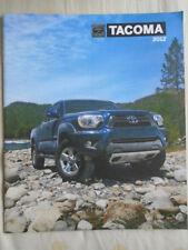 Toyota Tacoma Gamme brochure 2012 USA MARKET