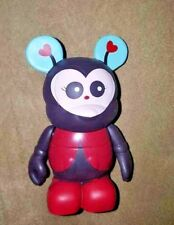 "DISNEY Rare VINYLMATION~3"" MICKEY Figurine~LADYBUG~CUTESTERS SERIES 2"
