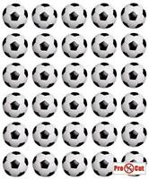 35 Football Cupcake Cake Toppers Decorations Edible Wafer Paper *Pre Cut*