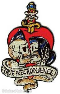 True Necromance PATCH Embroidered Iron-On Artist Vince Ray VRP16