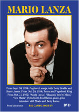 Mario Lanza - DVD 3 TV programs from 1954 - 1957 Bel Canto Society