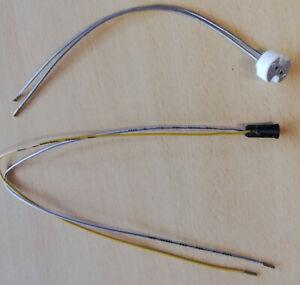 Fassung,Lampenfassung für Niedervolt Halogen Sockel MR16 GU5,3 G4,Mini-G 4 rund