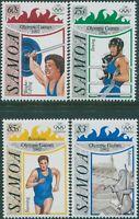 Samoa 1992 SG882-885 Olympics set MNH