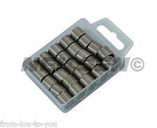 25 Piece Helicoil Type Threaded Inserts   M10 X 1.5mm - Thread Repair Coils