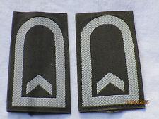 Boucles de rang Bw: Sergent, ARMÉE DE TERRE, blanc /olive