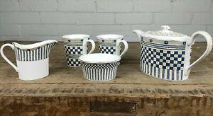 Wedgwood Samurai Pattern Breakfast Tea Set