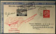 Raketenpost Gerhard Zucker, Duhnen, Herta, Hasselfelde, Stiege 31.08.1933 Rocket
