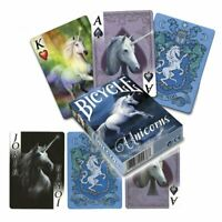 *UNICORNS* Full Deck Of ANNE STOKES Goth Fantasy Art Bicycle Playing Cards