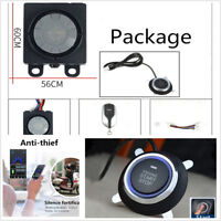 Mini Scooter/Motorcycle Anti-theft Security Alarm Device One-button Start GPS
