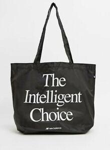 NEW + Tags - High Quality - NEW BALANCE Retro Vintage Style Logo Nylon Tote Bag