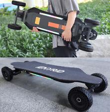 38 inch Off Road Electric Skateboard 2000W 24 MPH 4 Wheels Longboard For Adults