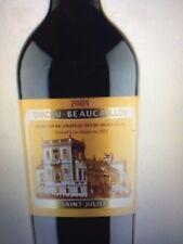 bouteilles de CHATEAU DUCRU BEAUCAILLOU 1998 97 PARKER