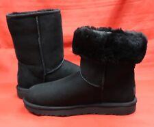 UGG Classic II Short Boot Black Winter Women's 1016223 Authentic Brand New