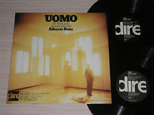 ALBERTO ROTA (TULLIO DE PISCOPO, SEGIO FARINA) - UOMO - 2 LP 33 GIRI AUTOGRAFATO