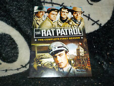 The Rat Patrol Complete First Season DVD 4 Discs +Booklet Free Shipping