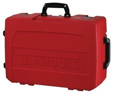 TENG TOOLS SUPER BRIGHT RED SERVICE TOOL STORAGE ROLLING CASE * 527x385x197mm