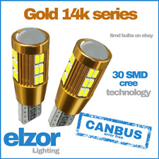 T10 Super White 501 Led Cree Xenon Side Light Bulbs Canbus Error Free Bright 12v