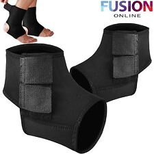 ANKLE SUPPORT BRACE GUARD INJURY PAIN SPRAINED WEAK STABILIZER ACHILLES TENDON