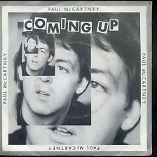7inch PAUL McCARTNEY coming up HOLLAND +PS 1980 EX