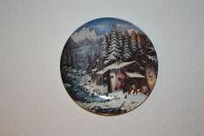 Wandtellerset  Winterpoesien von Wilhelm Kämmerer
