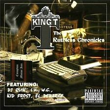 King T - The Ruthless Chronicles CD SEALED NEW / 2004 ORIGINAL ISSUE w/ Dr. Dre