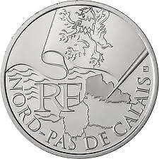 10 euro REGION -  NORD / PAS DE CALAIS 2010