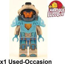 Lego Figura Minifig Nexo Knights Soldier Soldado Azul Casco Caballero Usado
