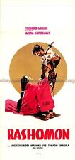 Rashomon R1970s dir: Kurosawa Italian locandina