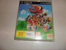 PLAYSTATION 3 PS 3 ps3 One Piece Unlimited Word Red