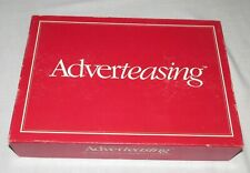 Adverteasing Board Game - Cadaco - Complete - 1988