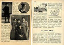 Die Familie Orleans Adels-Bild-Report m. historischen Aufnahmen von 1905