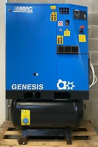 ABAC GenesisI 11 Variable Speed Receiver Mounted Rotary Screw Compressor + Dryer