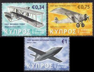 CYPRUS 2021 AIRCRAFTS AVIONS FLUGZEUGE WRIGHT BELL X-1 SPIRIT ST LOUIS [#2101]